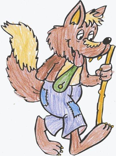 Escuela N6 DE 7 El lobo feroz lleg a nuestra Escuela